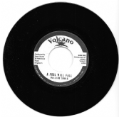 Wailing Souls - A Fool Will Fall / Roots Radics - version (Volcano) 7""